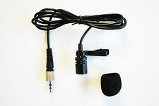 Lapel Microphone for Sennheiser Wireless 3.5mm Locking Screw