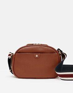 Joules Womens 215727 Pu Cross Body Bag - Tan - One Size