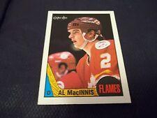 1987-88 OPC O-Pee-Chee #72 Al MacInnis 3rd year Calgary Flames - nrmt