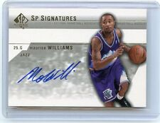 "2003-04 SP AUTHENTIC #MW-A MAURICE ""MO"" WILLIAMS AUTOGRAPH RC, CAVALIERS, 020916"