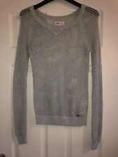 Hollister Womens Knitted Jumper Top Size XS