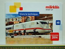 Catalogue MARKLIN START UP - 2014 F - HO - Neuf 68 p