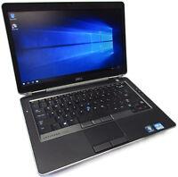 """Dell Latitude E6430s 14"""" Intel Core i7-3540M 3.0GHz 320GB 8GB Win10Pro Grade B-"""