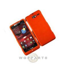 Motorola XT907 Razr M Shield Rubberized Burnt Orange Case Cover Shell Protector