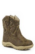 ROPER - Infant's - Cowbabies Scout Boots - Tan- 16900065 - NEW
