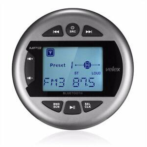 Marine Waterproof Bluetooth Digital Media Stereo Receiver Radio Boat ATV UTV