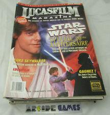 LOT 19 MAGAZINES LUCASFILM STAR WARS N° 8 A 31 1997 (port gratuit, vendeur pro)