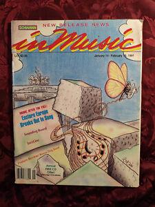 SCHWANN IN MUSIC Magazine January February 1991 Eastern Europe Music Bonzo Dog