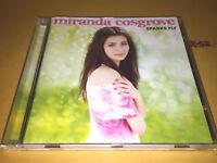 MIRANDA COSGROVE (Despicable Me / iCarly) SPARKS FLY cd KISSIN U + coupon card