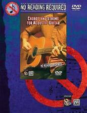 NEW No Reading Required: Chords And Strums For Acoustic Guitar (DVD)