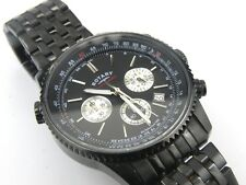 Mens Rotary GB03778/04 Black Aquaspeed Chronograph Watch - 100m