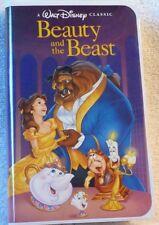 "VHS TAPE - VERY RARE COPY - Disney's ""Beauty and the Beast"" 1992 Black Diamond"