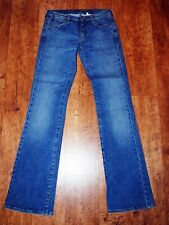 ARMANI Bootcut Stretch Jeans Blue Denim W26 L34 007 Series