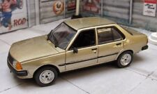 Renault 18 GTL 1986 Colombian Rare Diecast Scale 1:43 New In Box