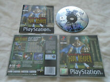 Legacy of Kain Soul Reaver PS1 (COMPLETE) rare Sony PlayStation black label