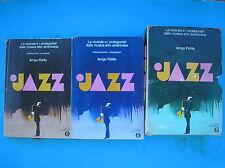 JAZZ A.POLILLO PROTAGONISTI MUSICA AFRO AMERICANA 1976 2 VOLUMI MONDADORI OSCAR