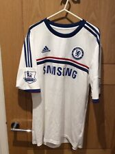chelsea Away Shirt Torres 9 Size Large Premiership Patches