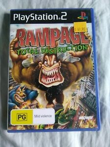 Rampage: Total Destruction. PS2 game. PlayStation 2. *FREE POSTAGE*