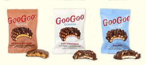 Goo Goo Cluster Sampler Pack, 4 Original + 4 Peanut Butter + 4 Pecan - Free Ship