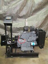 25 Kw Diesel Kubota Generator Re Connectable 240 Volt 3 Ph Genuine Stamford Avk