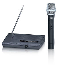 Wireless Microphones Akj 6110, microfono, karaoke, Gtd Audio, Vhf