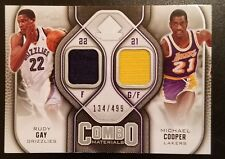 9292f4ec6ca 2009-10 SP Game Used Combo Material/Rudy Day & Michael Cooper #CM