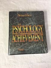 The Psychology Of Achievement Brian Tracy Audio Book Tapes Collection NEW