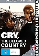 Cry, The Beloved Country DVD NEW, FREE POSTAGE WITHIN AUSTRALIA REGION 4