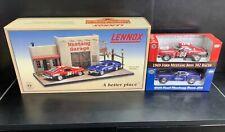 Lennox 1969 Ford Mustang Boss 429 & 302 Racer Diecast - Mustang Garage Diorama