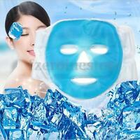 Gel Hot Ice Full Face Itchy Pain Headache Relief Face Mask Cold Relaxing Cool