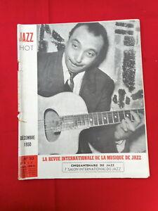 MUSIQUE JAZZ HOT DÉCEMBRE  1950 N° 50