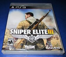 Sniper Elite III Sony PlayStation 3 *Factory Sealed! Free Shipping!