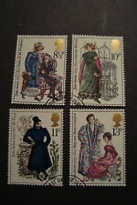 GB 1975 Commemorative Stamps~Jane Austen~Fine Used Set~ex fdc~UK Seller