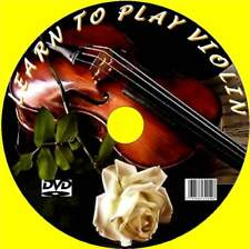 LEARN TO PLAY THE VIOLIN EASY STEP BY STEP LESSONS VIDEO DVD NEW TUNING SCALES