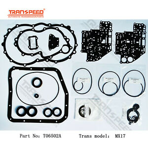 MX17 Transmission Rebuild kit Overhaul Seal Gasket For TOYOTA TRASNPEED T06502A