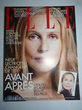 Magazine mode fashion ELLE French #2963 14 octobre 2002