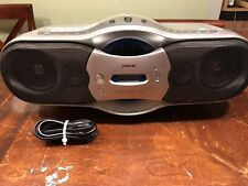 Sony Boombox Cfd-F10 Cd Am Fm Radio Cassette Recorder Bass Expansion Mega Bass