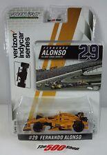 2017 Fernando Alonso #29 McLaren-Honda-Andretti Indianapolis 500 1:64 Die-Cast