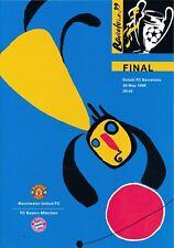 UEFA CHAMPIONS LEAGUE FINAL 1999 Manchester United v Bayern Munich