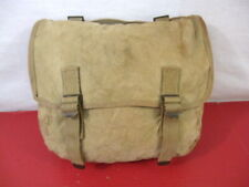 WWII Era US Army/USMC M1936 Canvas Musette Bag or Pack Khaki Color - Dated 1944