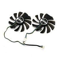 For ZOTAC GeForce GTX 1080 1070 AMP Edition GPU Graphics Card Cooling Fan Parts