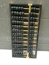 Lotus Flower Brand Abacus 13 Rod - 11 Wood and 2 Metal - 91 Bead Black (g335)