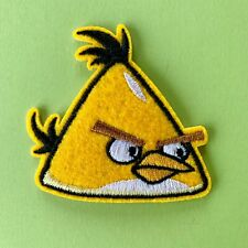 ANGRY BIRDS CANARY EMBROIDERED APPLIQUÉ PATCH SEW IRON ON #
