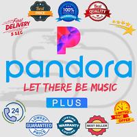 Pandora Plus Subscription Account 📻 Lifetime Warranty 😲 Instant Delivery 5 Sec