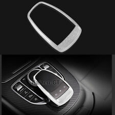 1X Silver Diamond Style Mouse Protective Frame Cover Trim For Benz C E S GLC GLE