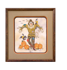 GLENDON PLACE Cross Stitch Pattern Chart A SOCIABLE SCARECROW Fall Halloween