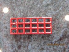 T reproduction Lionel 116 or 115 tinplate station small retangular window red
