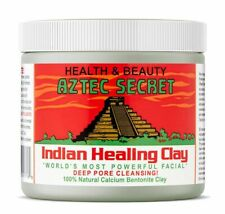 Indian Healing Clay Mask Powder Calcium Clay Deep Cleansing Beauty Facial Mask
