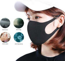 5 PACK Anti-Dust Mask Washable Reusable Face Cover Mask Black PINK GREY BLUE