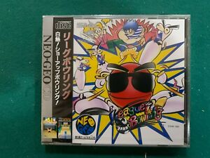 League Bowling Neo Geo CD New!